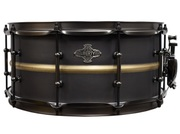 Liberty Drums - Brushed Black Brass Series Snare Drum