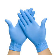 300 Blue Nitrile Disposable Gloves Extra Small